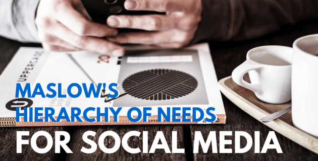 Maslow's Hierarchy of Needs for Social Media Marketing
