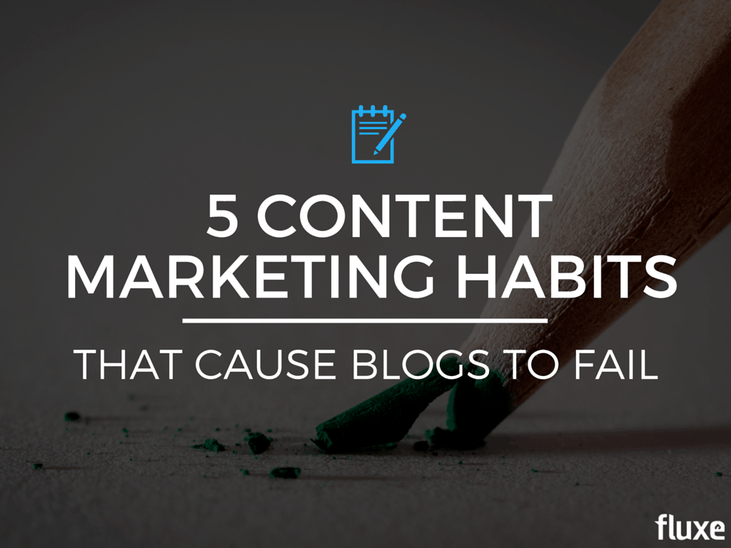 content marketing habits