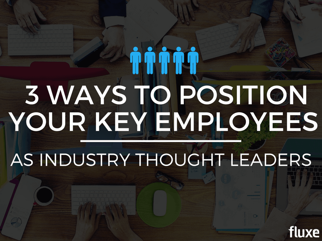 position employees thought leaders