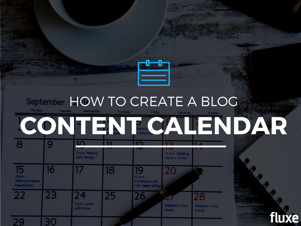 How to create a blog content calendar free template for How to build a blog