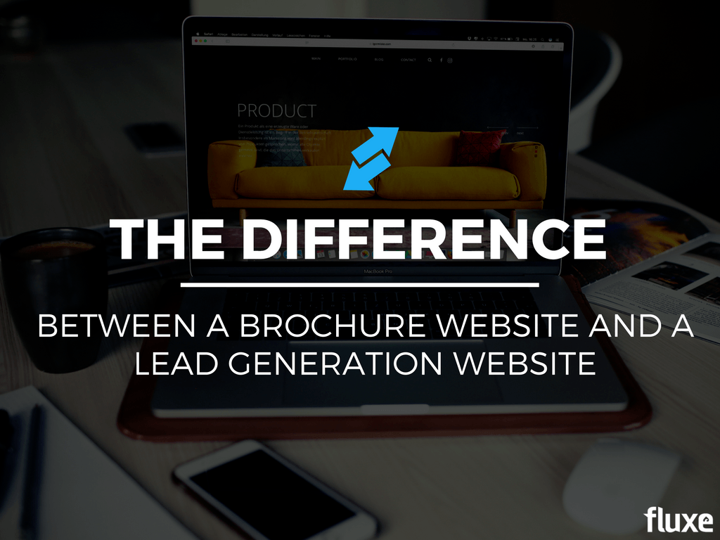 brochure website and lead gen website comparison