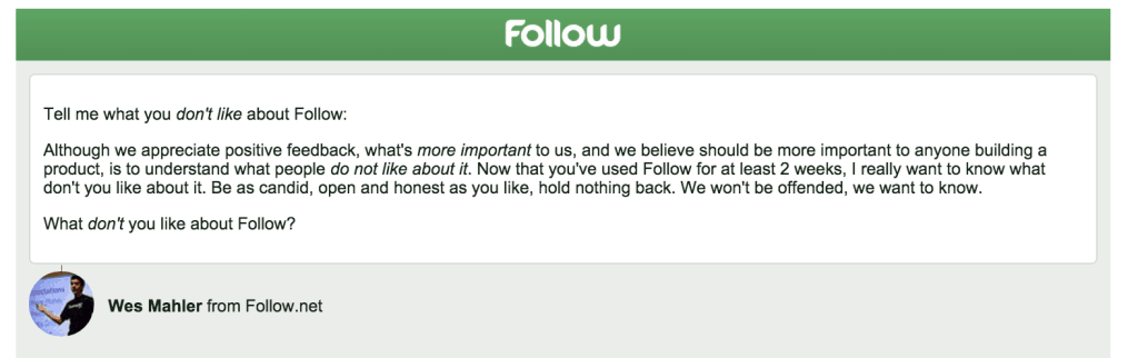 follow-email
