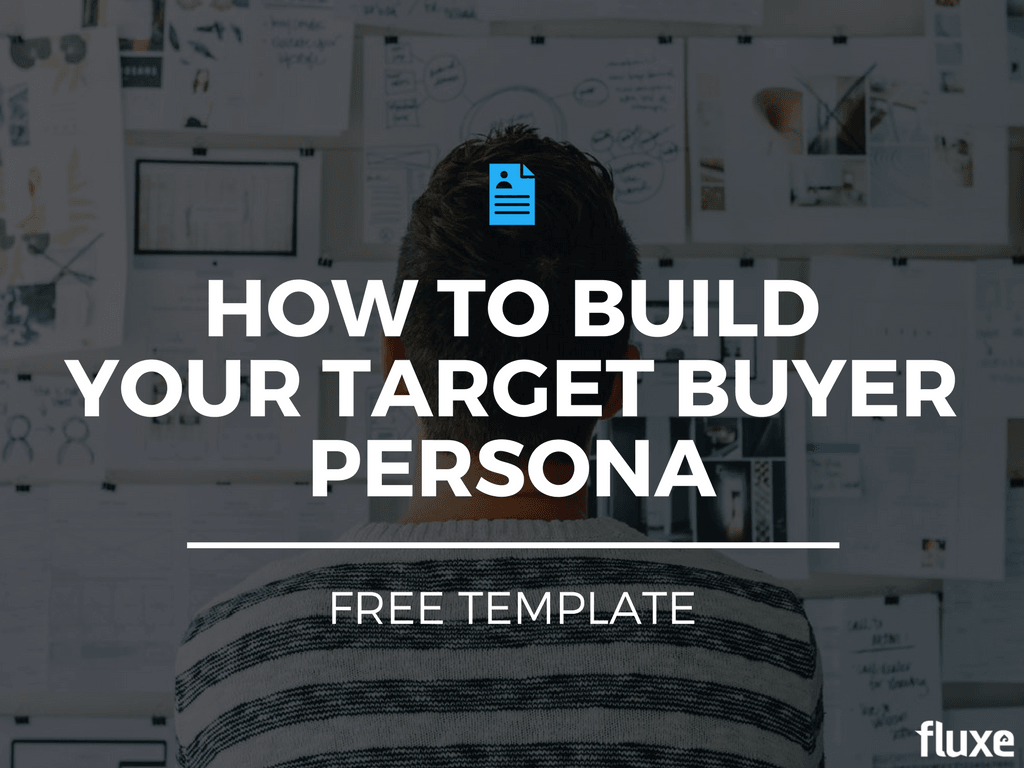 how to build target buyer persona template